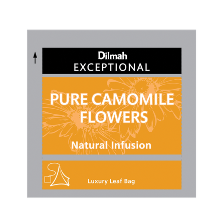 DILMAH EXCEPTIONAL PURE CAMOMILE FLOWERS INFUSION - 30 UN