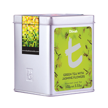 DILMAH T-SERIES GREEN TEA WITH JASMINE FLOWERS