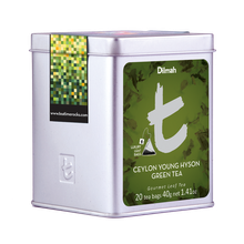 DILMAH T-SERIES CEYLON YOUNG HYSON GREEN TEA