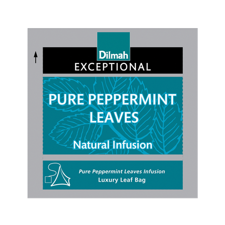 DILMAH EXCEPTIONAL PURE PEPPERMINT LEAVES INFUSION - 30 UN