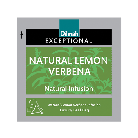 DILMAH EXCEPTIONAL NATURAL LEMON VERBENA INFUSION